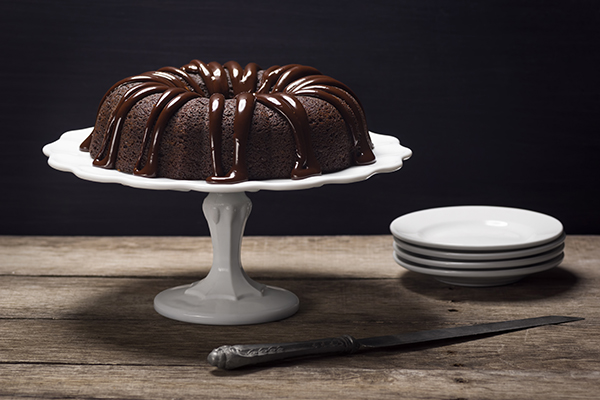 Chocolate Ganache Bundt Cake