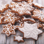 Gingerbread Christmas Star Cookies